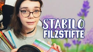 STABILO® Filzstifte in Pastell = PERFEKT! 📚 Prompt Book