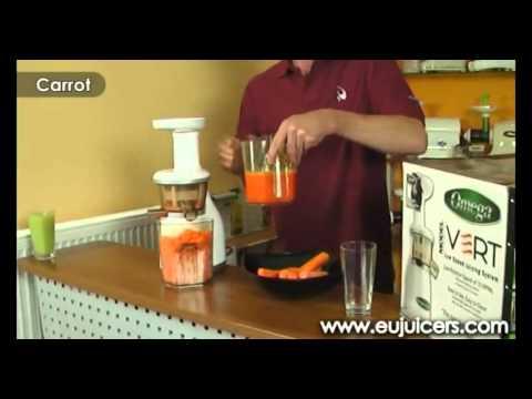Rewolucyjna wyciskarka soku z warzyw i owoców Omega VRT / CZĘŚĆ 1 z 2