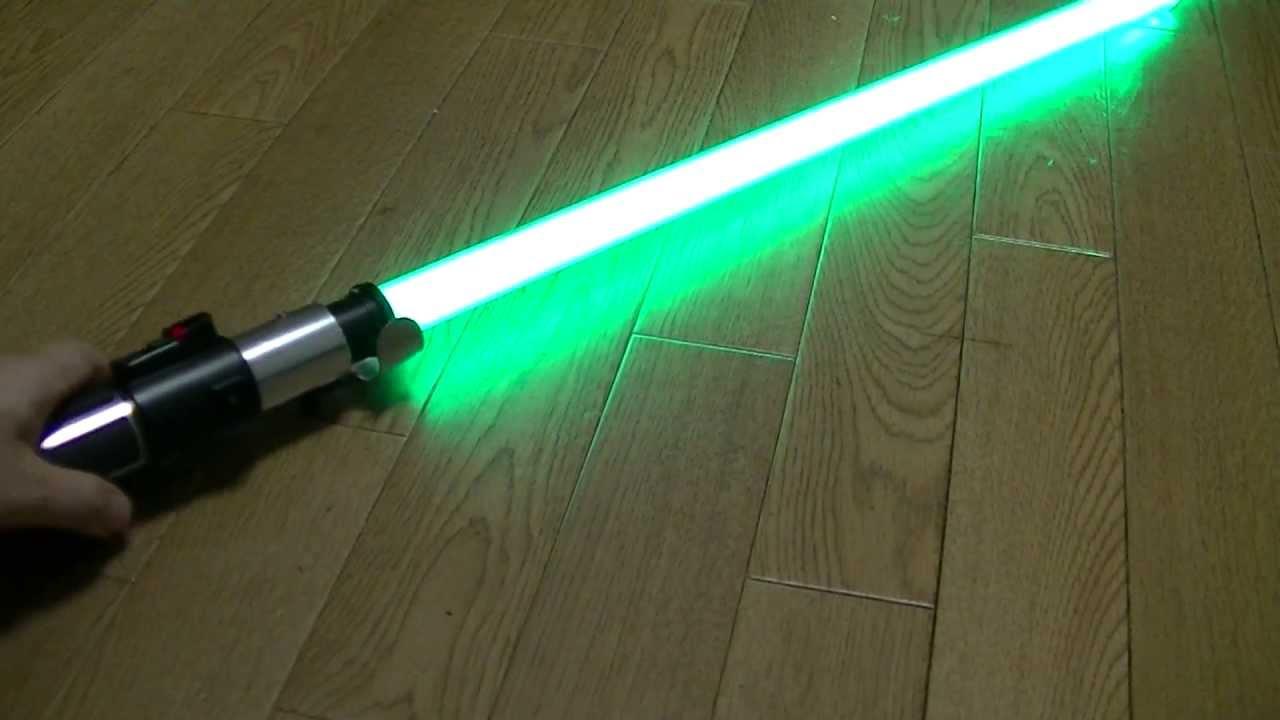 Master Replicas fx Lightsaber Yoda Yoda fx Lightsaber Luxeon