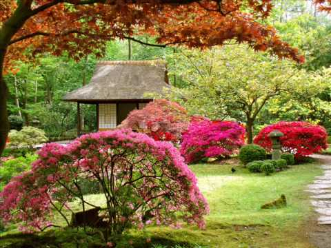 Japanese Gardens and Japanese Music Music Videos