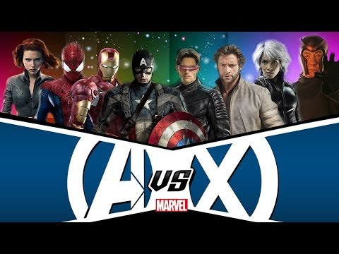 Avengers Versus X-Men Theatrical Trailer: CC Productions [HD]