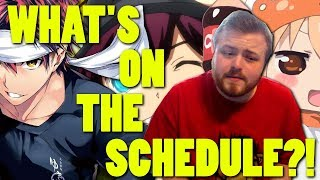 WHAT'S ON THE FALL 2017 SCHEDULE?!? || Anime Ambush #06