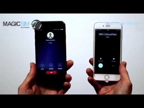 GoodTalk Dual SIM Device. Have 2 SIM's active at the same time! iPhone 6S DEMO