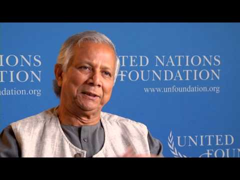 Muhammad Yunus: Biggest Issues Facing the World