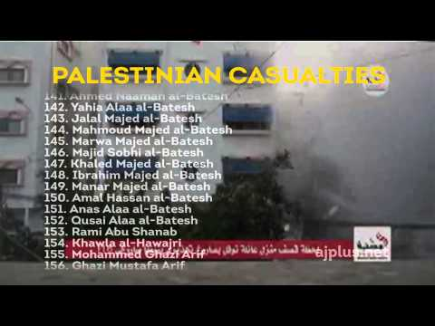 Naming The Casualties In Palestine And Israel