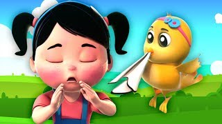 จามเพลง   เด็กบ๊อง   เพลงเด็ก   Sneeze Song   Rhymes For Childrens   Baby Song And Poems