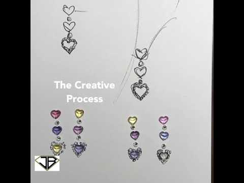 Art by Design | Artistic Process | Inspiration | 3D Jewelry Design | Newport Beach | JB Diamonds