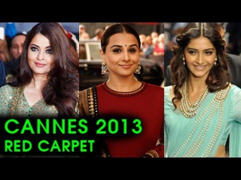 Cannes 2013 Bollywood Red Carpet