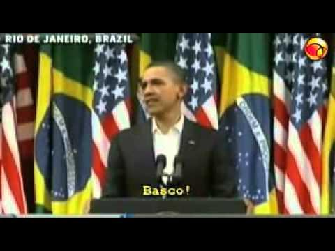 Flagra!!! Casal Obama canta e dança 'samba rock' no Rio