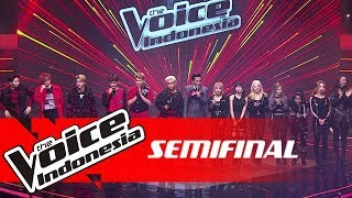 ZBoys & ZGirls | Semifinal |The Voice Indonesia GTV 2018