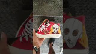 US Movie Trailer Inspired Custom Sneakers | Jordan Peele | Blumhouse