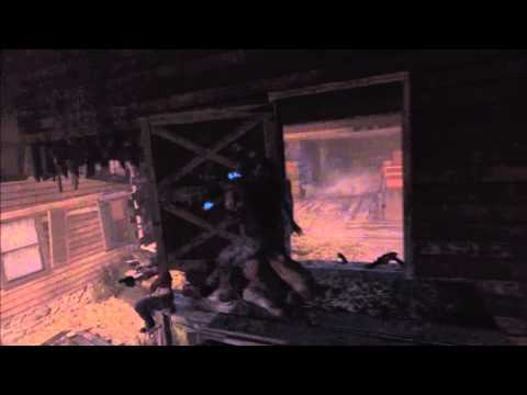 Black Ops 2 Zombies Glitches Buried - Invincibility Crouch Jump Barrier Glitch on