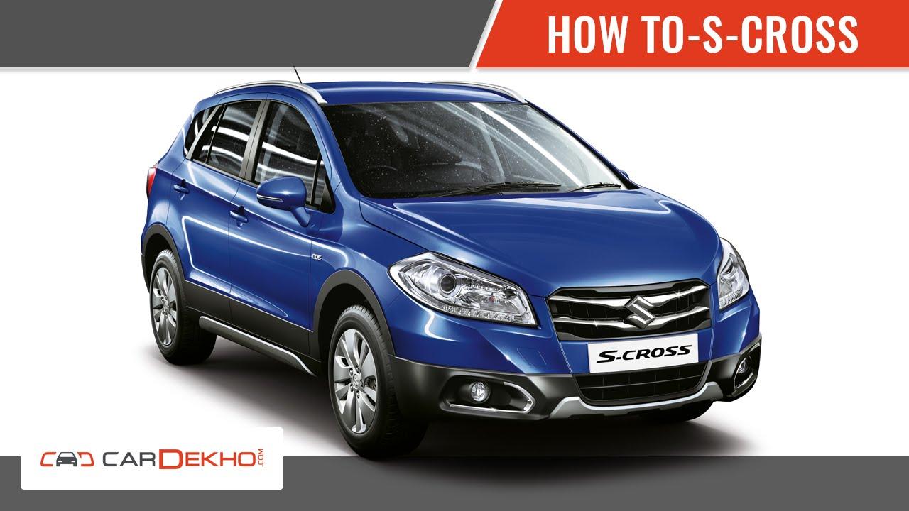 How to Open the Bonnet in Maruti Suzuki S Cross   CarDekho.com