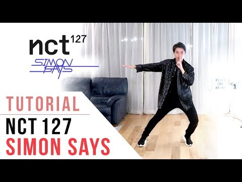 NCT 127  - 'Simon Says' Dance Tutorial (Explanation & Mirrored)   Ellen And Brian