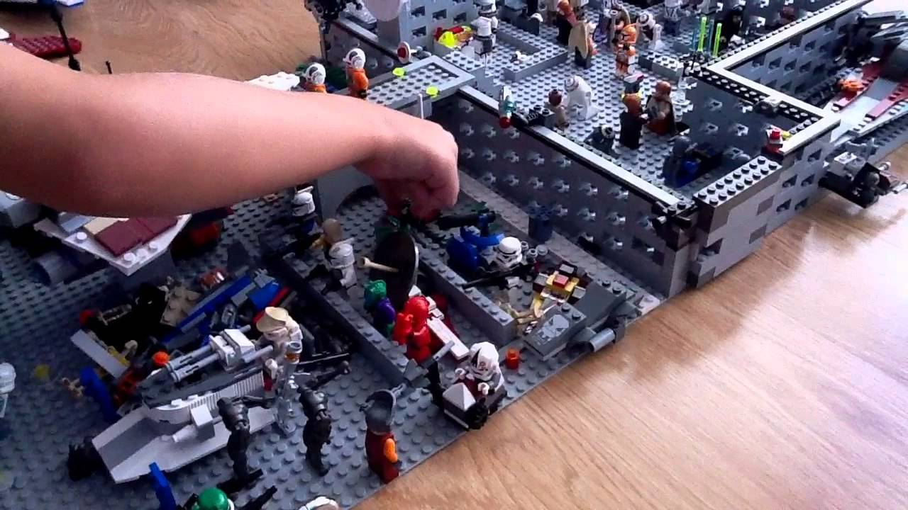 Ma base lego star wars youtube - Croiseur interstellaire star wars lego ...