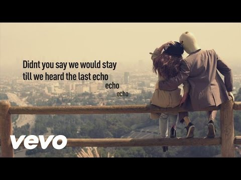 Foxes - Echo (Lyric Video)