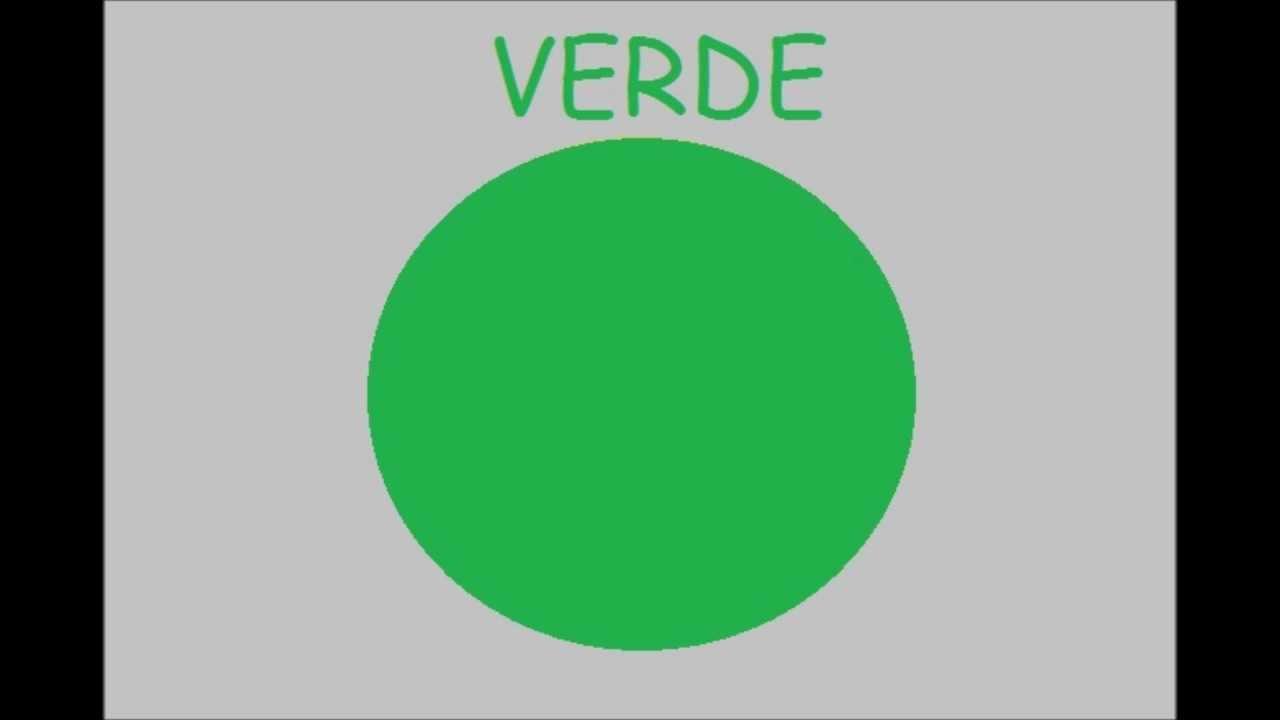 Los Colores en Espanol Para Ninos Los Colores en Espa ol Verde