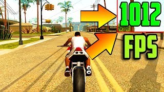 ЧТО БУДЕТ ЕСЛИ ИГРАТЬ В GTA SAN ANDREAS С 1000 FPS | 1000 FPS UP IN GTA SA