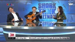 Shark Vương trổ tài đàn ghita và hát trong Chuyển động 24h - Tin Tức VTV24