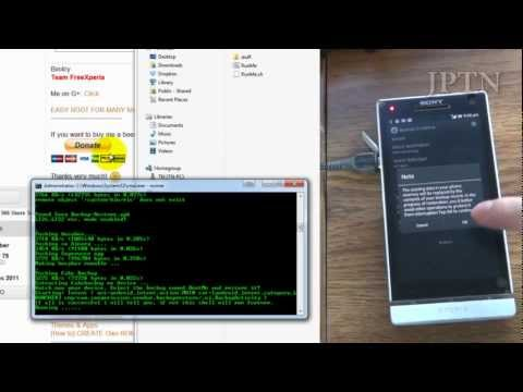 Root ICS/JB with Bin4ry's Restore Method: Xperia S/Ion/etc.. LG Optimus G. Xperia Tablet & Many More