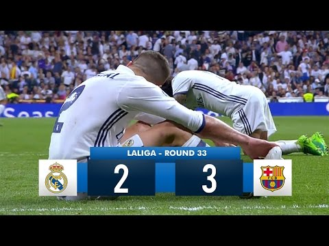 Real Madrid 2-3 Barcelona HD 1080i Full Match Highlights (230417)