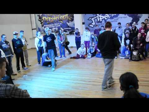 Prestige Battle Hip-Hop 1x1 Final Part 1 Ruzzle-Duzzle vs Well-Dee