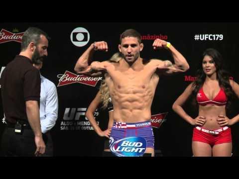 UFC 179 Weighin Highlights