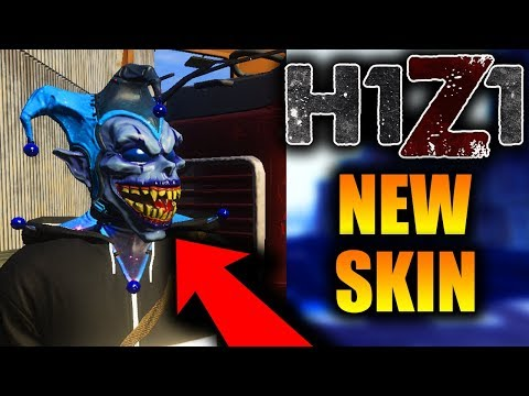 How to get the COSMIC JESTER MASK in H1Z1! New Super Exclusive Skin! (RARE)
