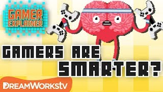Can Video Games Make You Smarter?   GAMER EXPLAINER