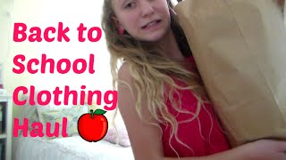 Back to School Clothing Haul