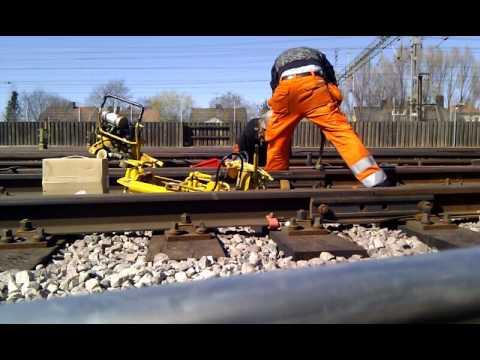 Welding rail - first time