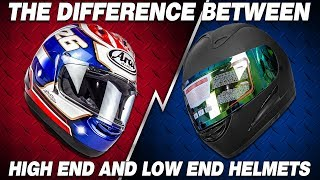 Cheap Motorcycle Helmets vs. Expensive: What's The Difference? | Sportbike Track Gear