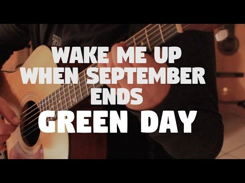 """Green Day """"Wake me up when September ends"""" on Fingerstyle by Fabio Lima"""