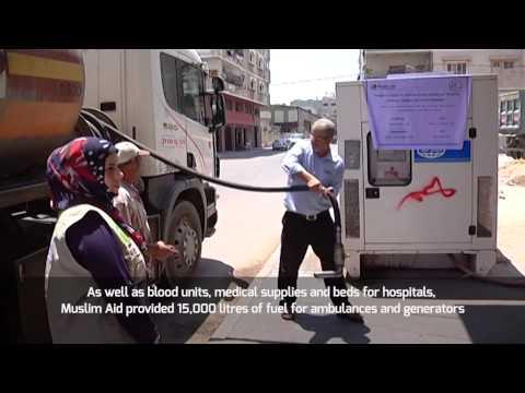 Muslim Aid - Gaza fuel delivery