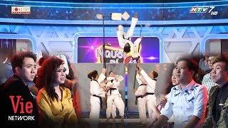 Trấn Thành, Trường Giang mãn nhãn với bài múa võ theo nhạc Dance trong Người Bí Ẩn mùa 6 2019
