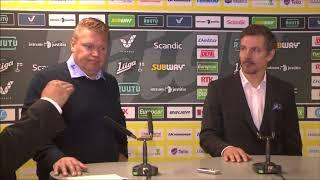 SaiPa-Lukko -lehdistötilaisuus 14.10.2017