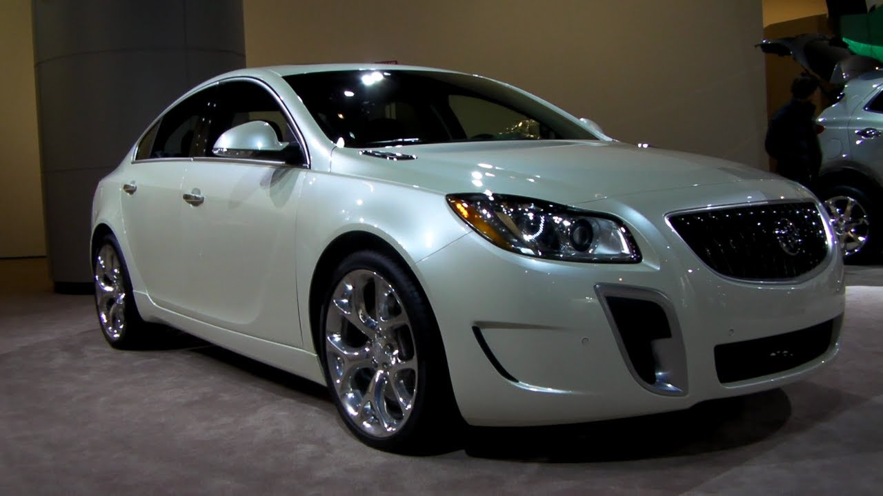2013 Buick Regal GS - YouTube