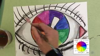 Eye of color Color wheels!