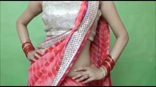 Wear Indian Saree To Look Slim & Sexy(How To Drape Sari Perfectly)