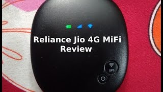 Reliance Jio 4G MiFi Device Review