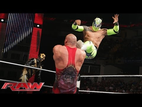 Goldust & Sin Cara Vs. Ryback & Curtis Axel: Raw, June 2, 2014 video