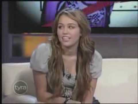Miley Cyrus Interview At Tyra Banks Show 4/10/09 Part 1/6 HQ