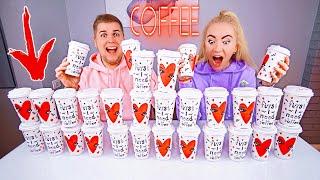 не выбирай КОФЕ СЛАЙМ ЧЕЛЛЕНДЖ ☕ Лизун из случайных ингредиентов COFFE Slime Challenge