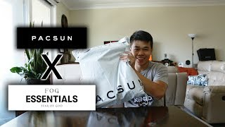 Unboxing Collection Mới Nhất Từ FOG - Fear Of God Essentials X Pacsun (LIMITED)