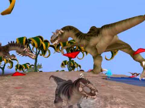 Spore Galactic Adventures Video  Dinosaurs