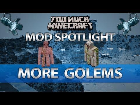 Minecraft: More Golems Mod Review for MC 1.6.2