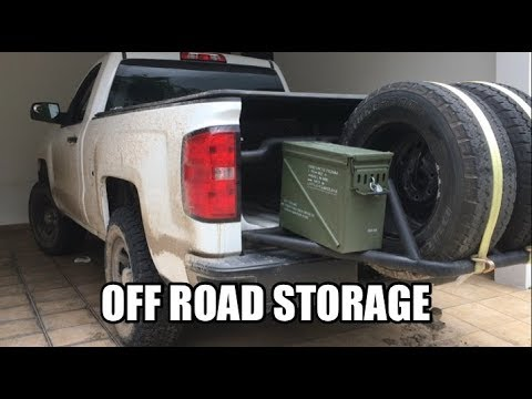 Installing Ammo Cans as Tool Boxes for Off-Road Storage