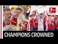 Trophy Lifting! - FC Bayern München Lift The Meisterschale - Heynckes Has The Honour MP3