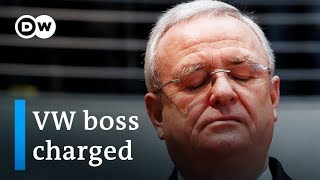 Former VW CEO Winterkorn charged in Germany over diesel scandal | DW News