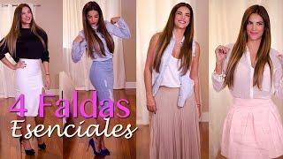 4 FALDAS ESENCIALES | GABY ESPINO TV